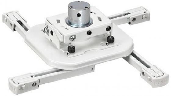 Фото - [RSMAUW] Универсальное крепление с микрорегулировками Chief RSMAUW для проектора весом до 11.3кг. Независимые регулировки наклон 15° горизонталь 3° поворот 360°, белое [ltm1u] универсальное настенное наклонное крепление chief ltm1u с функцией микрорегулировки fusion для дисплеев 47 75 весом до 90 7 кг
