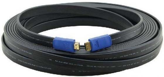 Фото - Кабель HDMI 22м Kramer C-HM/HM/FLAT/ETH-75 плоский черный 97-01014075 кабель hdmi 3м kramer c hm hm flat eth 10 плоский черный 97 01014010