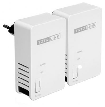 Комплект TOTOLINK PL200 KIT Powerline адаптеров 200Мбит/с