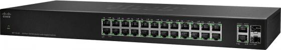 Коммутатор [SF112-24-EU] Cisco SB SF112-24 24-Port 10/100 Switch with Gigabit Uplinks