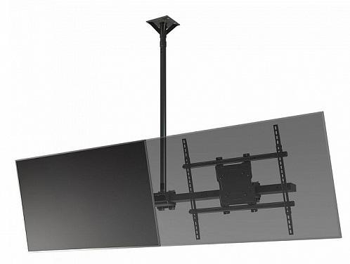 Фото - [CML65] Модуль Wize CML65 для потолочного крепления для мультидисплейной системы в ландшафтной ориентации для дисплеев 60-65+, VESA 800x672, наклон 15°/5°, до 68 кг, чeрн. huggies трусики подгузники huggies 5 mega pack для мальчиков 13 17 кг 48 шт