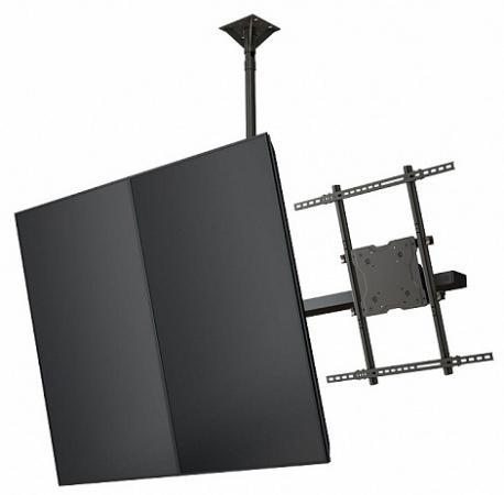 Фото - [CMP42] Модуль Wize Pro CMP42 для потолочного крепления для мультидисплейной системы в портретной ориентации для дисплеев 26- 42, VESA 200x200, наклон +15/-5°, до 68 кг, чeрн. huggies трусики подгузники huggies 5 mega pack для мальчиков 13 17 кг 48 шт