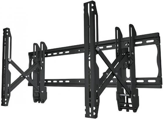[VW46] Настенное крепление для видеостен Wize VW46 с выдвижным механизмом, для 37 60+, Max VESA 600x400 мм, до 91 кг, расстояние от стены 8-27 см, вертикальное/горизонтальное выравнивание, защита от кражи,черн. фото