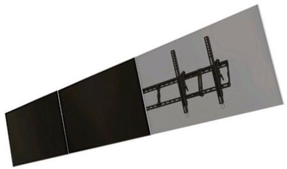 Фото - [WML55] Модуль для расширяемой системы Wize для настенного крепления ландшафтной ориентации для дисплеев 50-55, VESA 800x400, наклон +15/-5°, до 91 кг, черн. шины для легковых автомобилей bridgestone 578401 245 40r 17 91 615 кг y до 300 км ч