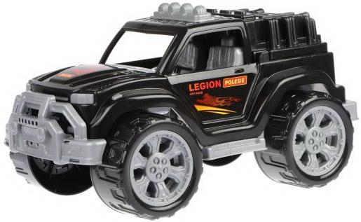 Автомобиль Легион №4 (чёрный) машинка полесье легион 4 пограничный 76304