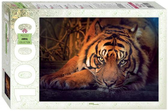 Пазлы 1000 Сибирский тигр gigi дорожный набор для идеально чистой кожи nutri peptide clean