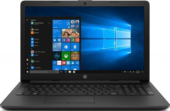 Ноутбук 15.6 FHD HP 15-da0466ur/s black (Pen 4417U/8Gb/256Gb SSD/noDVD/VGA int/DOS) (7MW74EA) ноутбук hp 15 6 fhd 15 db1141ur s grey 8rt93ea