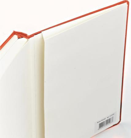 Бизнес-Блокнот А5, 100 л., твердая обложка, балакрон, на резинке, BV, Оранжевый, 3-101/05 бизнес блокнот а5 100 л твердая обложка балакрон на резинке bv зеленый 3 101 03