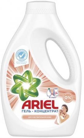 Средство для стирки жидкое автомат 1,04 л ARIEL (Ариэль) для чувствительной кожи, гель, концентрат, 1220003 средство для стирки жидкое автомат 2 6 л ariel ариэль color гель концентрат 1001932