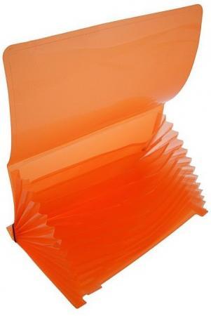 """Папка на резинках ERICH KRAUSE """"Glance Neon"""", А4, 13 отделений, до 300 листов, 600 мкм, ассорти, 43120 erich krause папка на резинках arlecchino формат a5"""