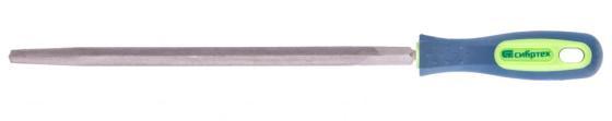 Фото - Напильник, 250 мм, трехгранный, двухкомпонентная рукоятка, №2// Сибртех напильник 300 мм плоский двухкомпонентная рукоятка 2 сибртех