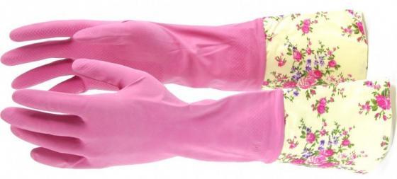 Фото - Перчатки хозяйственные латексные с манжетой, XL// Elfe перчатки elfe хозяйственные с манжетой 1 пара размер m цвет розовый