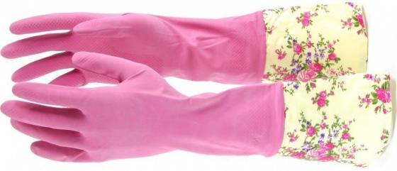 Фото - Перчатки хозяйственные латексные с манжетой, S// Elfe перчатки elfe хозяйственные с манжетой 1 пара размер m цвет розовый