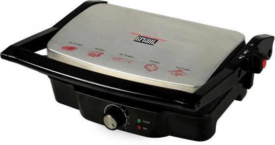 Электрогриль GFGril GF-025 PANINI-GRILL 1500Вт серебристый/черный гриль gfgril gf 770 grill barbecue