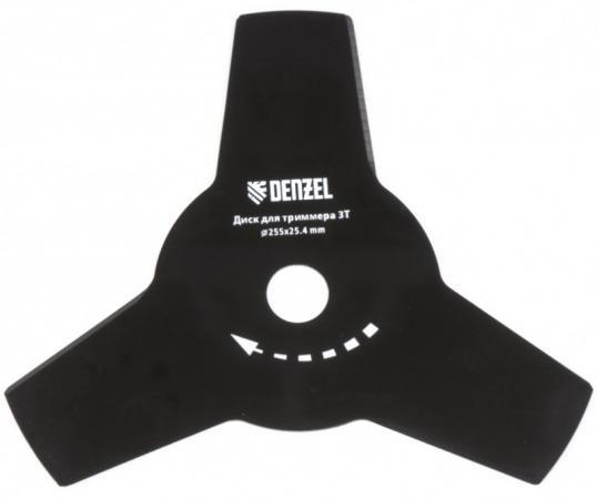 Фото - Диск для триммера, 255 х 25,4 толщина 1,6 мм, 3 лезвия// Denzel нож мастералмаз для триммера 3 лезвия 230х25 4х1 4 мм 10505251