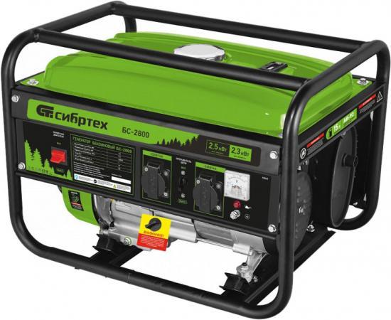 Генератор бензиновый БС-2800, 2,5 кВт, 230В, 4-х такт., 15 л, ручной стартер </div> <div class=