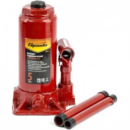 Домкрат гидравлический бутылочный, 5 т, h подъема 195-380 мм </div> <div class=