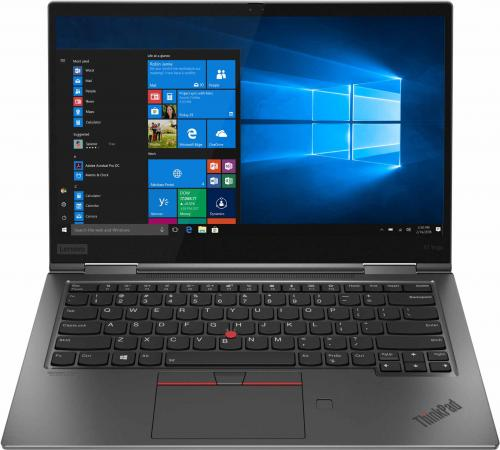 "Ультрабук Lenovo ThinkPad X1 Yoga 4 14"" 3840x2160 Intel Core i7-8565U 512 Gb 16Gb 4G LTE Bluetooth 5.0 Intel UHD Graphics 620 серый Windows 10 Professional 20QF0022RT цена 2017"