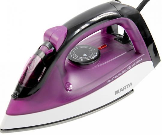 лучшая цена MARTA MT-1149 Утюг фиолетовый чароит