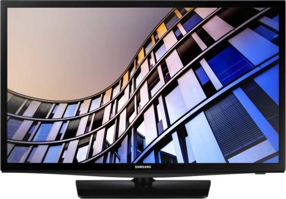 Фото - Телевизор LED 24 Samsung UE24N4500AUX черный 1366x768 50 Гц Wi-Fi Smart TV USB RJ-45 телевизор led 32 samsung ue32t4500auxru черный 1366x768 60 гц smart tv wi fi usb rj 45