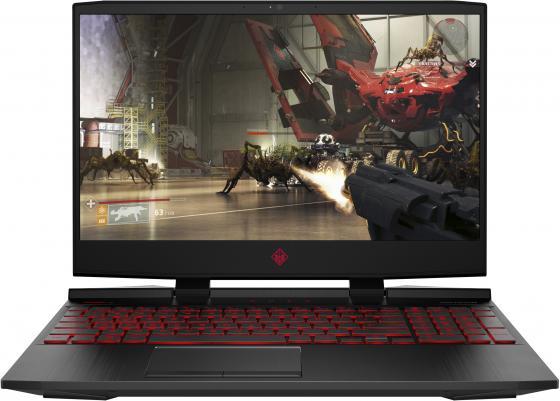 """Ноутбук 15.6"""" FHD HP Omen 15-dc1033ur black (Core i5 9300H/8Gb/512Gb SSD/1650 4Gb/W10) (6WP29EA) цена и фото"""