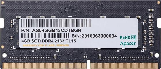 Купить Apacer DDR4 SODIMM 4GB ES.04G2R.KDH PC4-17000, 2133MHz