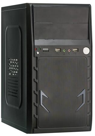 Купить Exegate EX280395RUS Корпус Minitower ExeGate BAA-105 Black, mATX, <без БП>, 2*USB, Audio