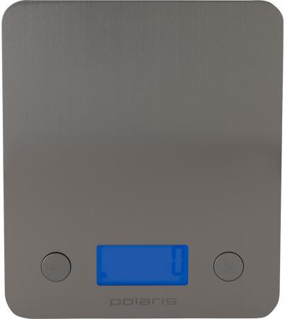 Весы кухонные Polaris PKS 0547DM серебристый кухонные весы polaris pks 1044dg