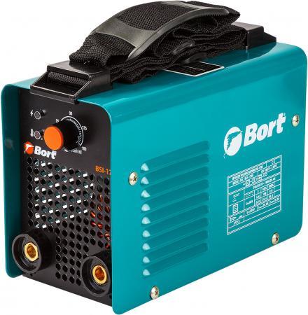 Инверторный сварочный аппарат Bort BSI-170H Диапазон тока 10 - 160 А; Диаметр электрода 1,6 - 3,2 мм; Антизалипание; 4500 Вт; bort bsi 190s инверторный