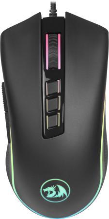 Мышь проводная игровая Cobra fps RGB,9кнопок,24000dpiоптическая Redragon недорого