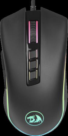 Мышь проводная игровая Cobra fps RGB,9кнопок,24000dpiоптическая Redragon мышь redragon cobra fps 78284