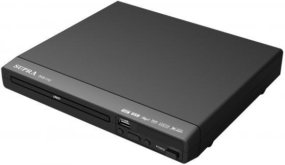 Плеер DVD Supra DVS-11U черный ПДУ стоимость
