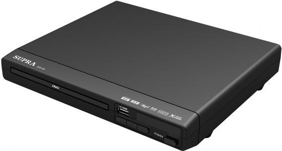 Плеер DVD Supra DVS-14U черный ПДУ