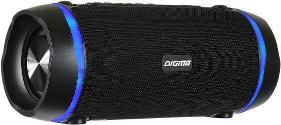 лучшая цена Колонка порт. Digma S-39 черный 25W 1.0 BT/USB 3000mAh (SP3925B)