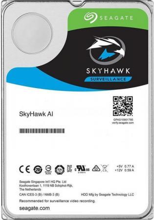 Жесткий диск Seagate Original SATA-III 12Tb ST12000VE0008 SkyHawkAI (7200rpm) 256Mb 3.5