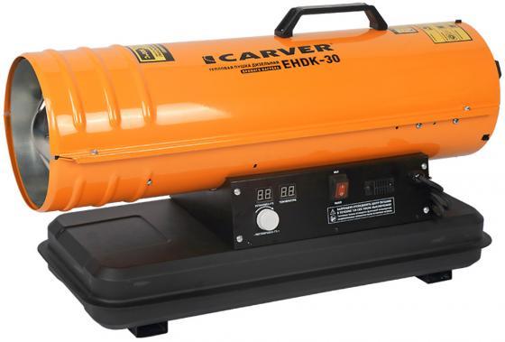 цена на Тепловая пушка Carver EHDK-30 30000 Вт оранжевый чёрный