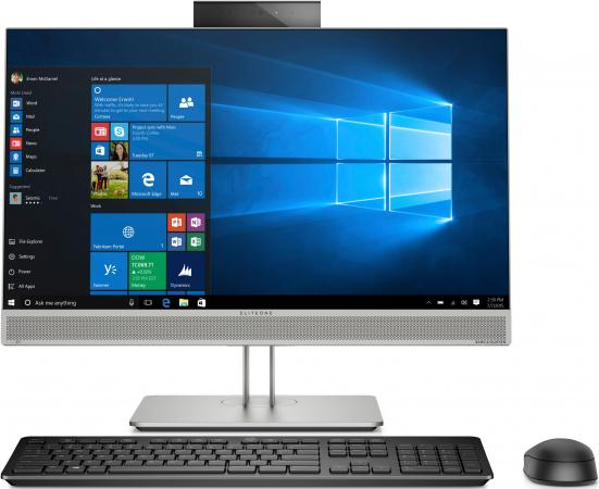 Купить Моноблок HP EliteOne 800 G5 23.8 Full HD Touch i5 9500 (3)/8Gb/SSD256Gb/RX 560 4Gb/Windows 10 Professional 64/GbitEth/WiFi/BT/180W/клавиатура/мышь/Cam/серебристый 1920x1080