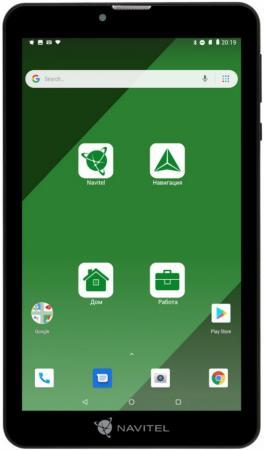 """Навигатор Автомобильный GPS Navitel T707 3G 7"""" 1024x600 16384 microSD Bluetooth черный Navitel цена и фото"""