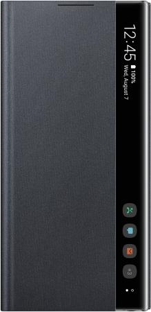 Чехол (флип-кейс) Samsung для Samsung Galaxy Note 10 Clear View Cover черный (EF-ZN970CBEGRU) цена и фото