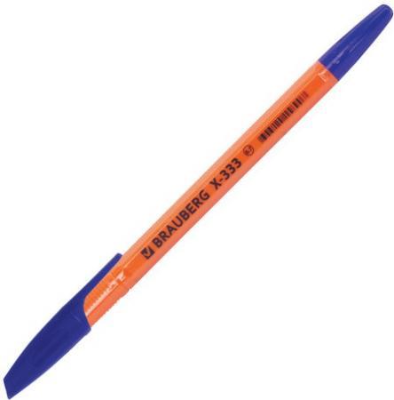 """Ручки шариковые BRAUBERG НАБОР 3 шт., """"X-333"""", СИНИЕ, оранжевые, узел 0,7 мм, линия письма 0,35 BP160"""