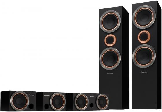 Комплект акустики Pioneer S-RS55TB-B 5.0 660Вт черный