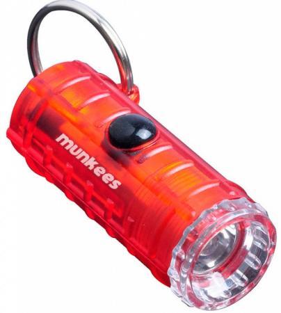 Фонарь брелок Munkees 1094 красный лам.:светодиод.x3 цена