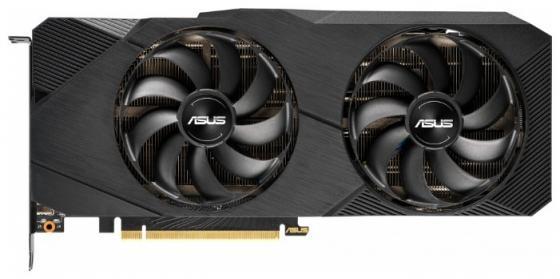 Видеокарта Asus PCI-E DUAL-RTX2070-O8G-EVO nVidia GeForce RTX 2070 8192Mb 256bit GDDR6 1410/14000 DVIx1/HDMIx2/DPx2/HDCP Ret