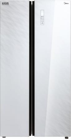 Комплект: Холодильник Midea MRS 518 SNGW + Морозильный ларь Midea MCF 3084 W комплект midea холодильник mrb519sfnw1 морозильник mf 1084 w