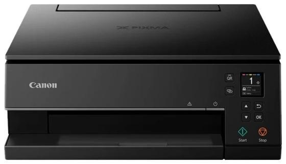 Фото - МФУ Canon PIXMA TS6340 black (струйный, принтер, сканер, копир, 4800dpi, Bluetooth, WiFi, AirPrint, duplex, Сенсорный дисплей) замена TS6240 мфу струйный canon pixma ts6340 a4 цветной струйный черный [3774c007]