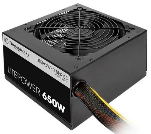 Блок питания ATX 650 Вт Thermaltake Litepower 650W блок питания thermaltake litepower 650w [ps ltp 0650npcneu 2]