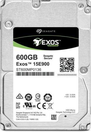 Фото - Накопитель на жестком магнитном диске Seagate Жесткий диск Exos 15E900 HDD 600GB Seagate 512N ST600MP0136 2.5 SAS 12Gb/s 256Mb 15000rpm жесткий диск 2tb sas 12gb s seagate st2000nm003a exos 7e8 512n 3 5 7200rpm