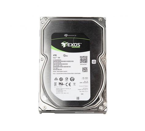 Фото - Накопитель на жестком магнитном диске Seagate Жесткий диск HDD 4TB Seagate Exos 7E8 HDD ST4000NM003A 3.5 SAS 12Gb/s 256Mb 7200rpm жесткий диск 2tb sas 12gb s seagate st2000nm003a exos 7e8 512n 3 5 7200rpm
