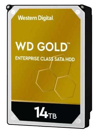 "Накопитель на жестком магнитном диске WD Жесткий диск GOLD WD141KRYZ 14ТБ 3,5"" 7200RPM 256MB 512E (SATA-III)"