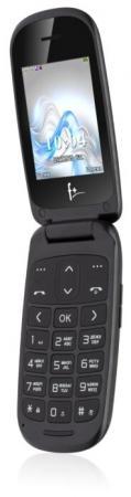 """Мобильный телефон Fly F+ Flip 1 черный 2.4"""" 32 Мб Bluetooth"""